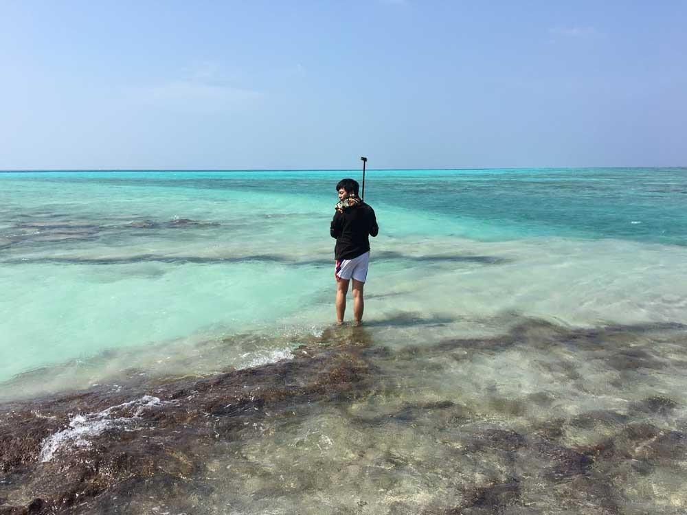 cảnh đẹp maldivess