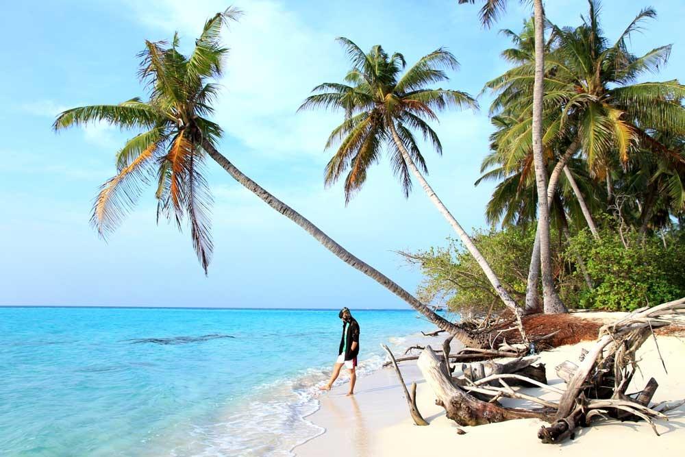 cảnh đẹp maldives