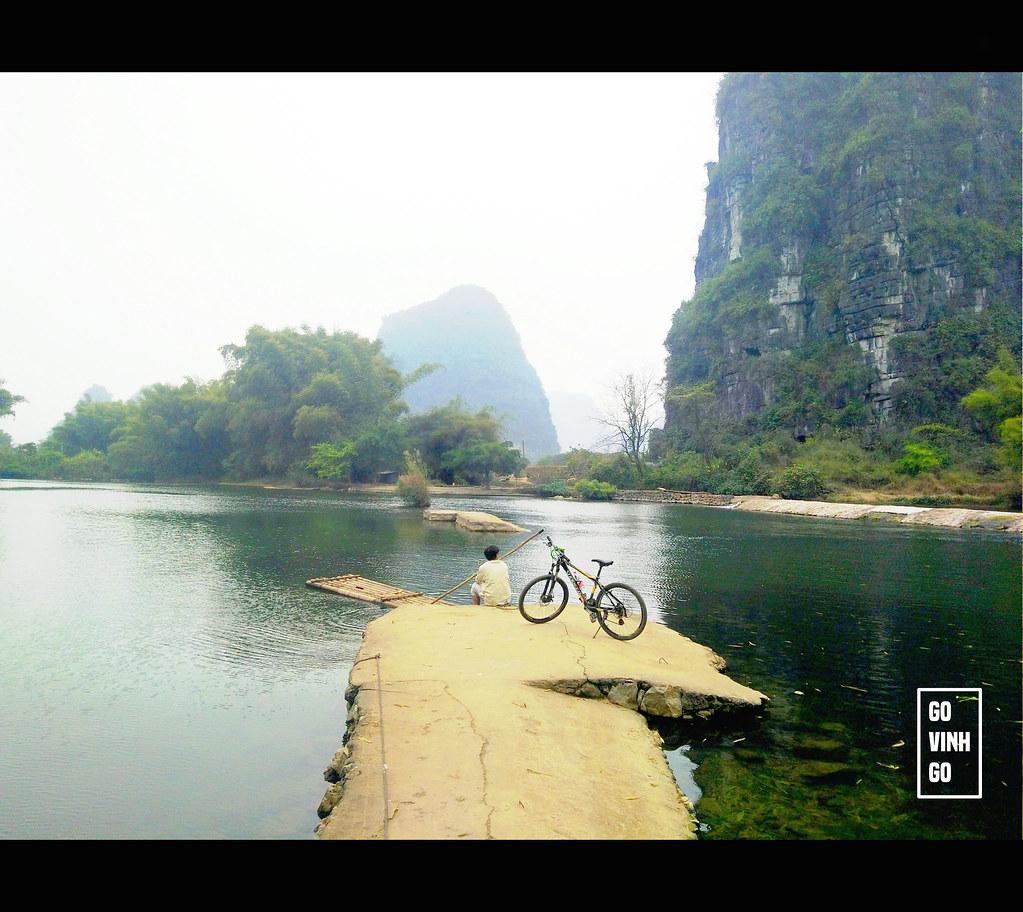 đạp xe ở trung quốc