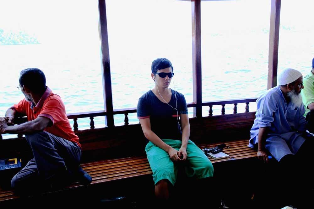 di chuyển trong maldives