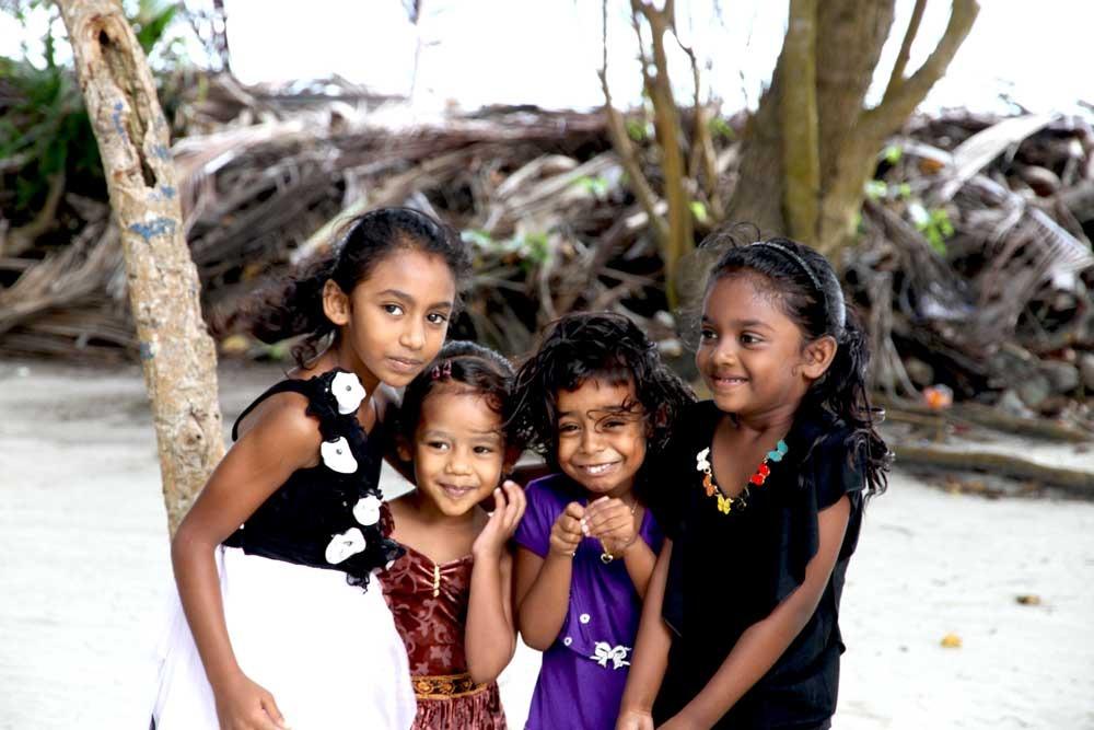 người dân maldives