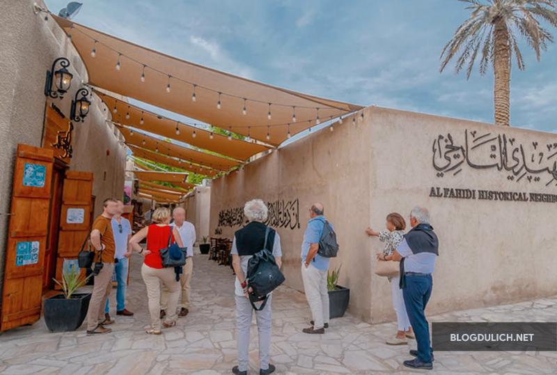 Quận Al Fahidi – nơi tìm hiểu lịch sử của Dubai xưa