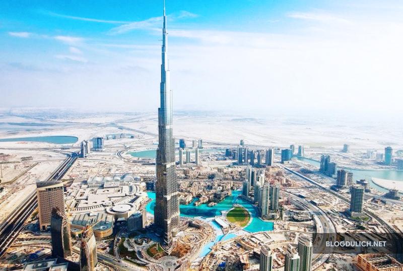 Burj Khalifa- điểm đến luôn thu hút du khách