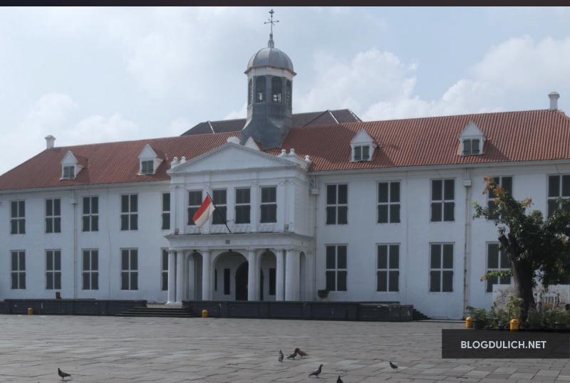 Kota Tua mang đậm dấu ấn lịch sử của Jakarta