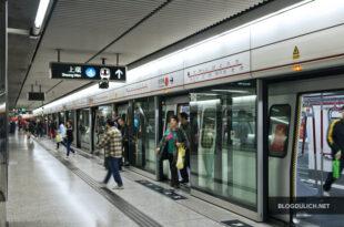 Tàu điện ngầm ở Hong Kong là giải pháp tuyệt vời để di chuyển khắp Hương Cảng.