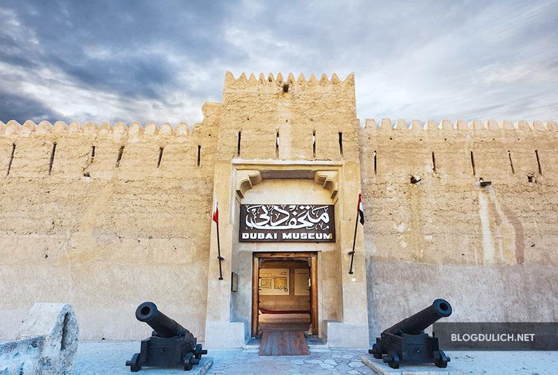 Bảo tàng Dubai- nơi để tìm hiểu về lịch sử Dubai xưa