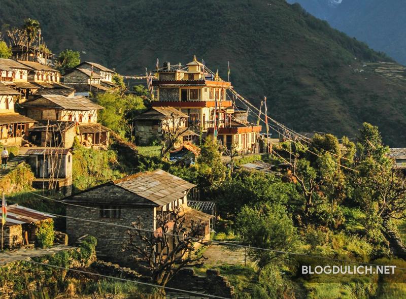 Thức dậy ở Nepal với quanh cảnh cực đẹp