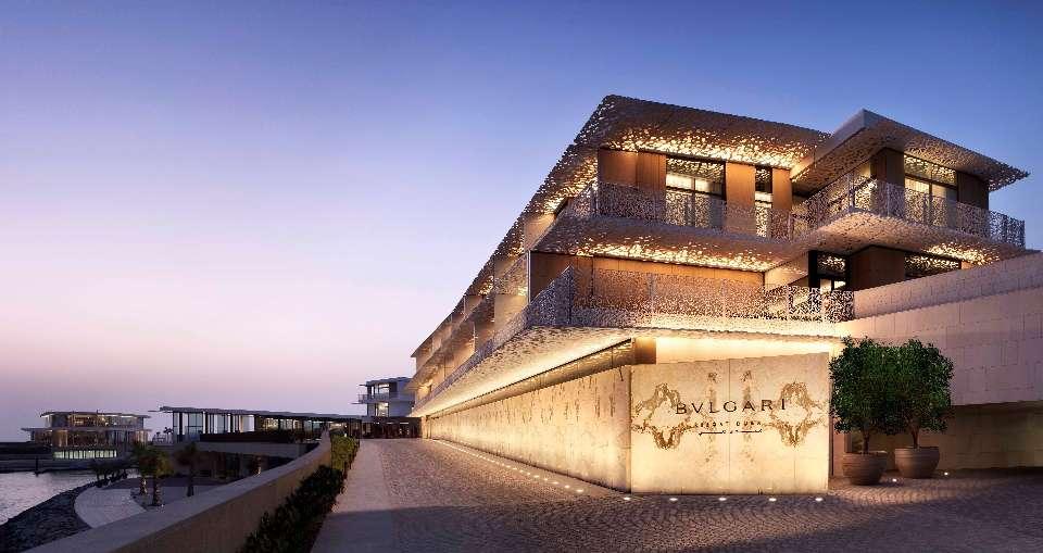Khách sạn Bulgari Resort Dubai với cách bài trí sang trọng