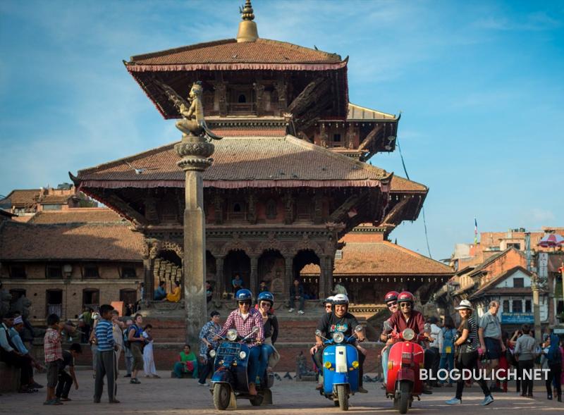 Một góc nơi quảng trường Nepal