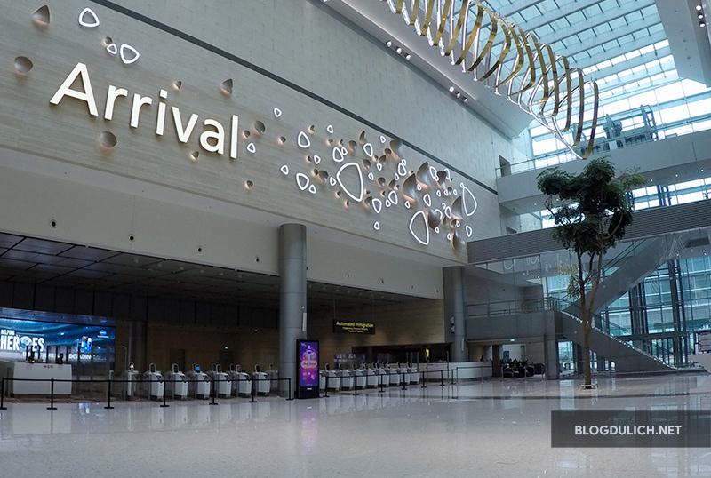 Sân bay Changi- một trong những sân bay tốt nhất thế giới
