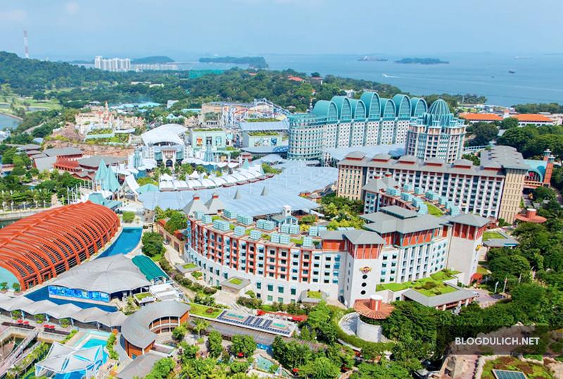 Đảo Sentosa nổi tiếng tại Singapore
