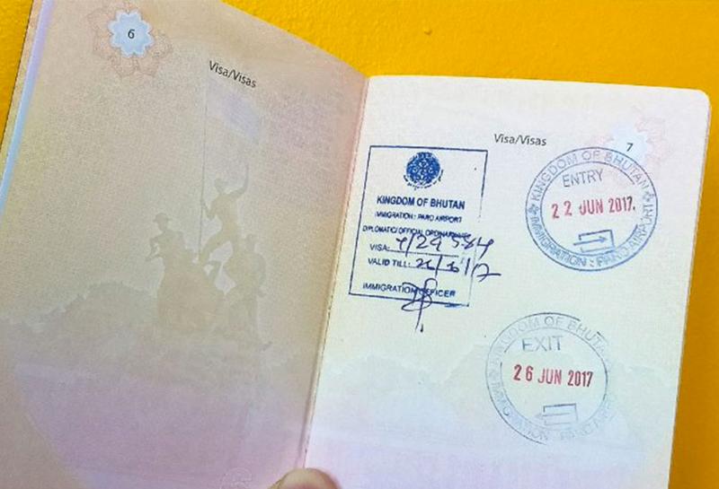 Visa Bhutan