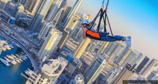 Chơi Zipline không dành cho những người sợ độ cao