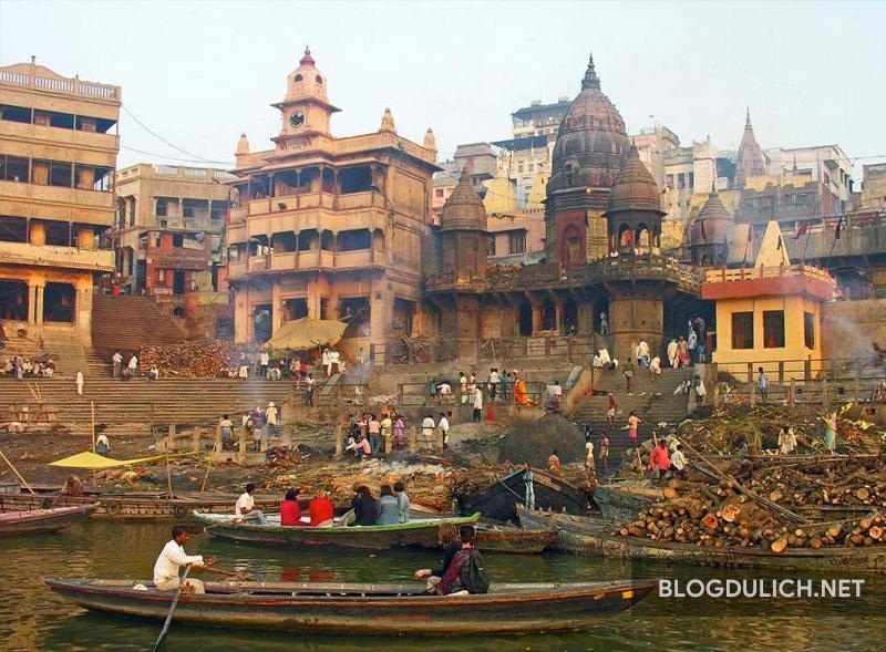 Varanasi- nơi thành phố tín ngưỡng của người Hindu